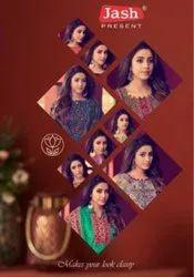Jash Elliza Vol-7 Karachi Printed Cotton Dress Material Catalog