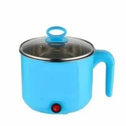 Color Coated Stainless Steel Electric Cooking Pot, For Kitchen