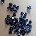 Round Blue Sapphire Gemstone