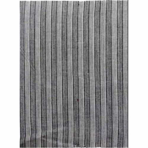 Striped Cotton Shirting Fabric, Machine wash, 150-200