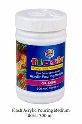 Flash Acrylic Pouring Medium (Gloss) 300 Ml