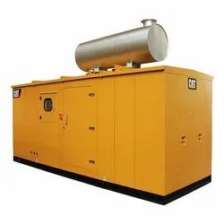 Silent or Soundproof Water Cooling 500 KVA Caterpillar Diesel Generator, 415 Volts