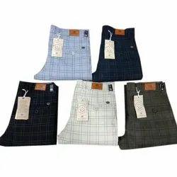 Cotton Casual Men's Designer Trouser