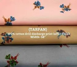 Tarpan 100% Cotton Drill Discharge Print Laffer Finish Fabric
