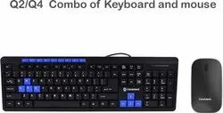 Black Hp Wireless Keyboard And Mouse 300 Model Number 3ml04aa Id 20615341662