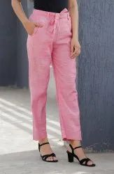 Pink Pants for Office Wear