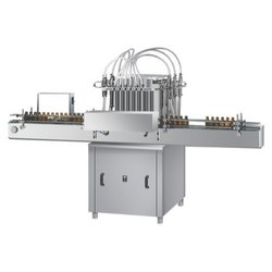 Automatic 6 Head Volumetric Filling Machine