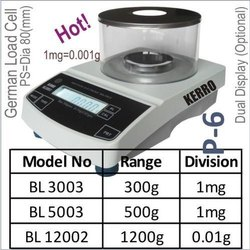 Analytical Scale 1mg/0.01g with RS-232 Port