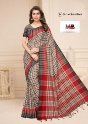 soft  cotton silk saree