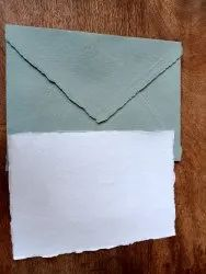 Handmade Deckle Edged Envelopes In Custom Made Colors