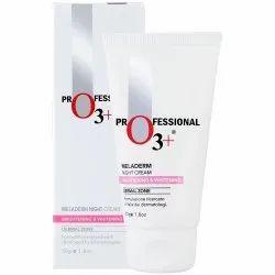 O3 Dermal Zone Meladerm Intensive Skin Whitening Night Care Cream, 50ml
