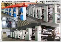 7 Colour Rotogravure Printing Machine