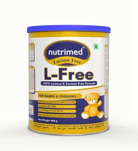 Nutrimed L-Free - Lactose Free infant formula (100% Soy Free) - Anti Diarrhea baby food