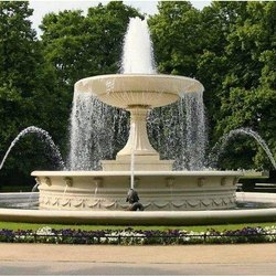 Marble Outdoor Waterfall Fountain for Garden Use