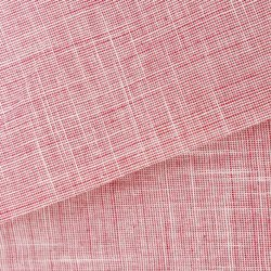 White-Pink and Yellow Handloom Cotton Khadi Fabric