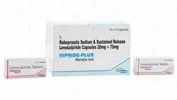 VIPRIDE - 25/50/100 (Levosulpiride Tablets), Consern Pharma Limited, 5 Strips Of 10 Tablets Each