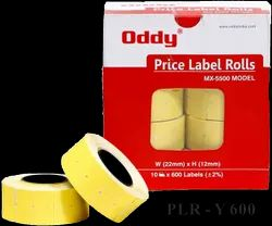 Oddy Price Labels Rolls