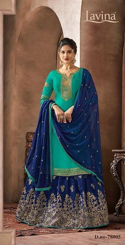 Lavina Present Lavina Vol 78 Georgette Pakistani Sharara Dress Collection
