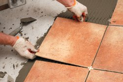 Floor Tiles Fixing Service