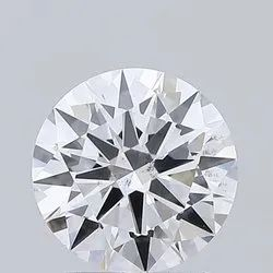 1.52ct Lab Grown Diamond CVD E SI1 Round Brilliant Cut IGI Crtified Type2A
