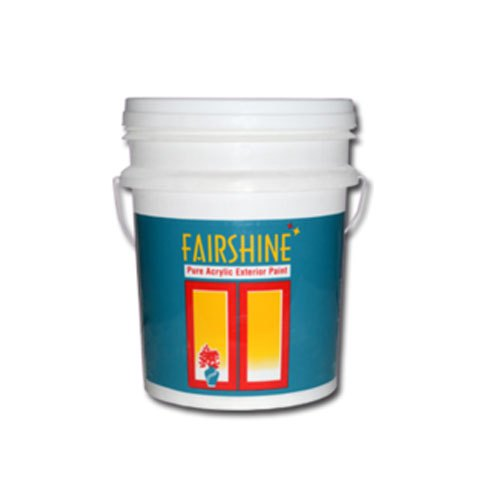 Fairshine Pure Acrylic Exterior Paint, Packaging Type: Bucket, Packaging Size: 20 Litre