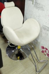 White Salon Chairs