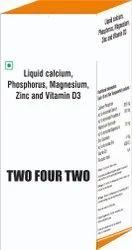 Liquid Calcium Phosphorus Magnesium Zinc & Vit D3
