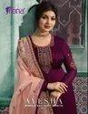 Fiona Ayesha Vol2 Satin Georgette Salwar Suit With Organza Silk Dupatta