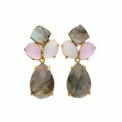 Labradorite Interchangeable Earrings