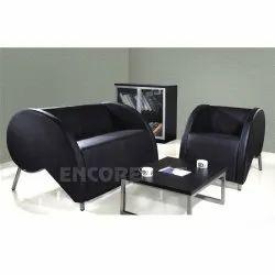 Office Leatherette Sofa