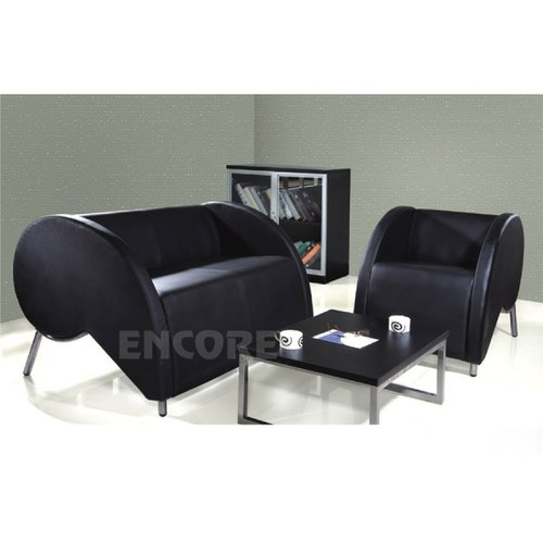 Office Leatherette Sofa