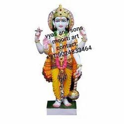 Lord Vishnu Marble Statue