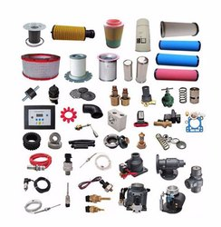 Mostly Brands Spares of Air Compressor