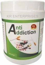 Kr Anti Addiction Powder 200gm, Non prescription