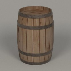 Wooden Barrel, Capacity: 50-100 Litres