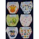 Multicolor Cotton Printed Baby Panty, 1-2yr