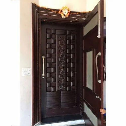7 Feet Modern Decorative Wooden Door Designer Door Design Door Stylish Doors सज वट दरव ज ड क र ट व ड र Satyamsales Jaipur Id 21208731333