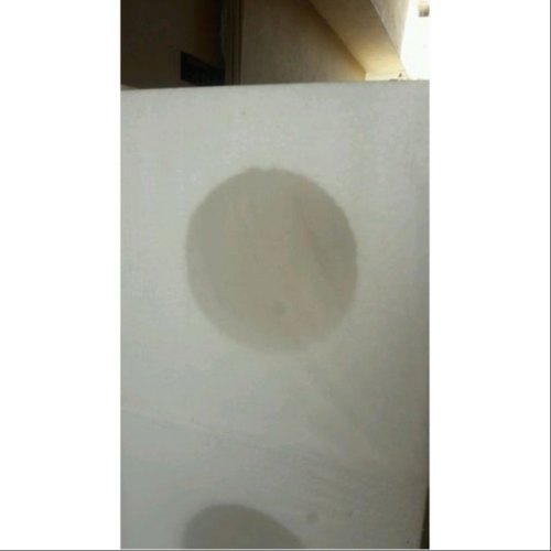 White Thermocol Scooped Packaging Material