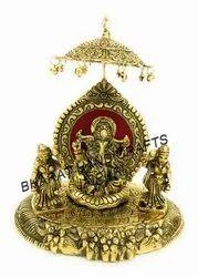 Golden plated Gajanand