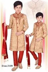 Kids Indian Sherwanis For Boys