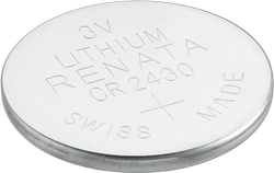 Renata CR 2430 Lithium Coin Cell Battery