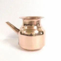 Plain Copper Ganga Sagar