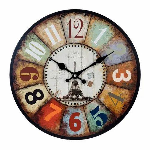 Paris Design Wall Clock
