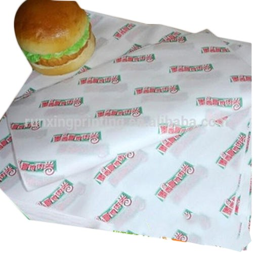 JE Grease Proof Burger Wrapping Paper, GSM: Less than 80