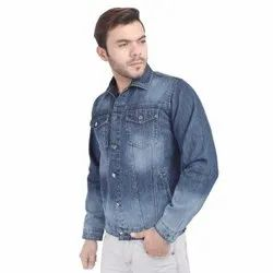 Skupar Faded Blue Men Denim Jacket