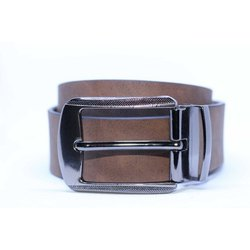 Brown Leather Belt 1