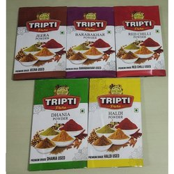 Spice Powder Laminated Packing Pouch