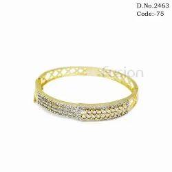 American Diamond Studded Bracelet Kada
