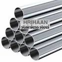 Brushed Stainless Steel Round Pipe