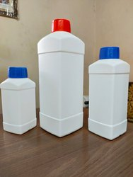 HDPE Bottles - PP09 Square Shape